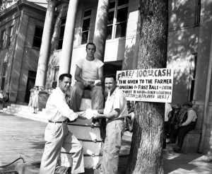 1955  First Bale of Cotton