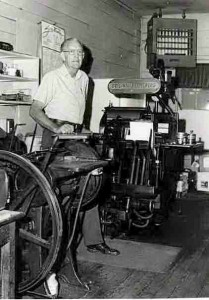 W. H. Smith Printer