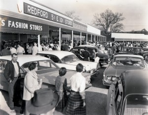 The Triangle Shopping Center was built at the close the Big Friendly Store in Trion in the early 1960s