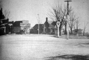 C orner before Post Office