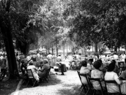 A 4th of July picnic in Menlo 1950