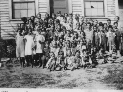 Pine Grove School, 1937 (entire school)