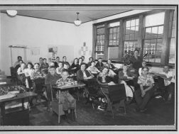 Miss Maude Sewell's ( a 50 year teacher) 7th grade class in 1952 at Summerville School