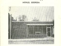 Menlo gets a new Post Office August 1963