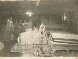 Inside the Lyerly Mattress Factory circa 1950