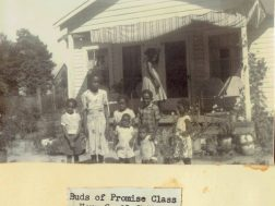Sunday School class pictured in 1951 Lyerly Hometown scrapbook