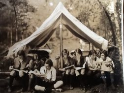Campers at Camp Juliette Low 1924