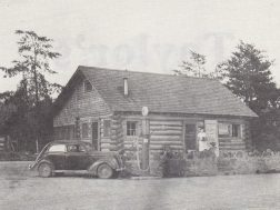 An early photo of Sonny's Tavern in Cloudland at the Alabama line. It later became the Son-Lib Trade Center