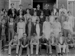 Menlo High School about 1930