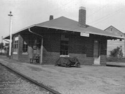 Last Menlo Depot for the TAG railroad (torn down 1970s)