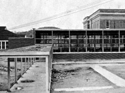 Lunch room for Summerville High and later Junior High, built late 50s,