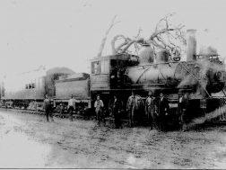 Rome and Northern Railroad in Gore circa 1910