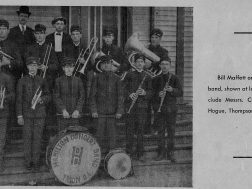 A Band in Trion in the early 1900's