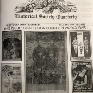 World War One quarterly. Forty Eight pages of pictures and information on how the war profoundly affected our county.