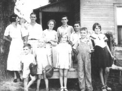The Jack Bryant family, Lyerly 1930s