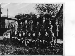 Boy Scout Troup, Summerville mid 1950's Evan Scoggins Scout Master